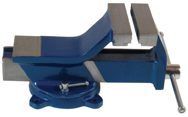 Ganz-Stahl-Schraubstock Parallelschraubstock mit Amboss Backenbreite 100 mm