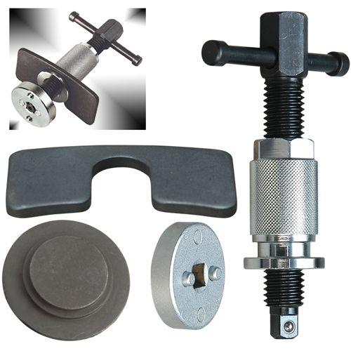 Universal Bremskolben Druck-Drehvorrichtung, mit Spezial Druck-Adapter