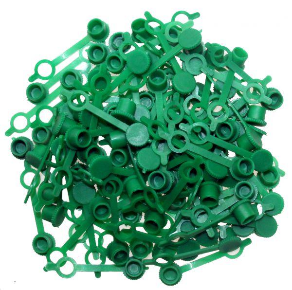 M6 Schmiernippel-Abdeckkappen, 100-tlg. (grün)