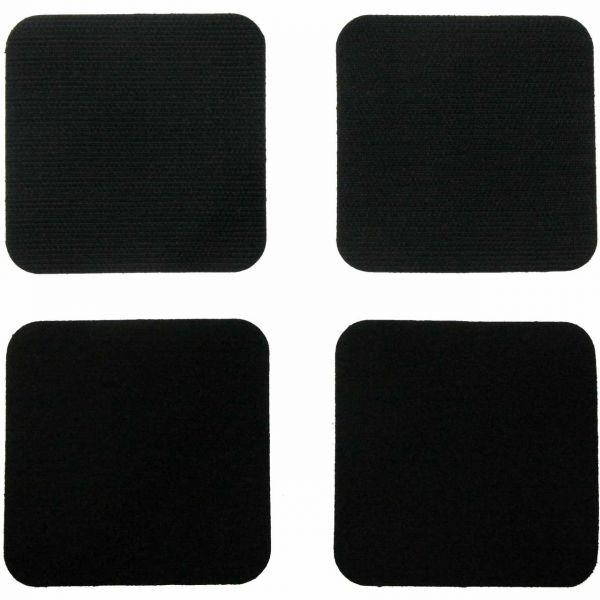 Selbstklebende Klettverschluss, 75x75 mm