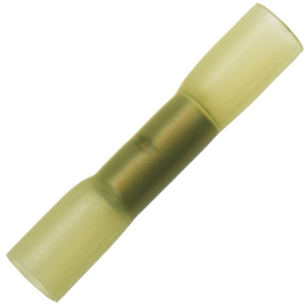 100 Kabelschuhe-Sortiment Schrumpfverbinder Stoßverbinder Schrumpfschlauch GELB