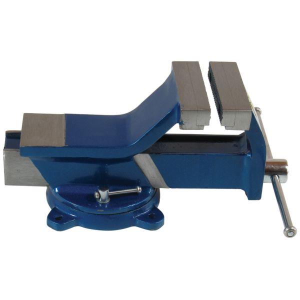 Ganz-Stahl-Schraubstock Parallelschraubstock mit Amboss Backenbreite 125 mm