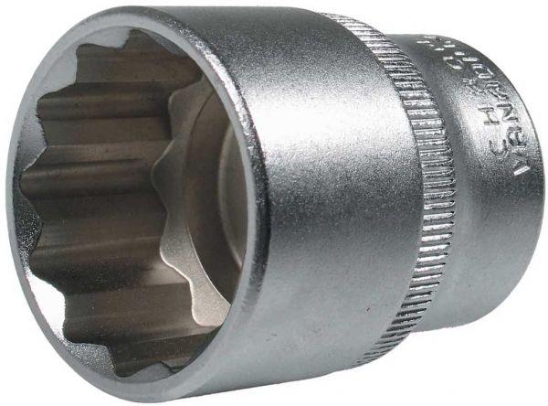 """Steckschlüssel-Einsätze, 1/2""""-Antrieb, div. Größen von 8-38 mm"""