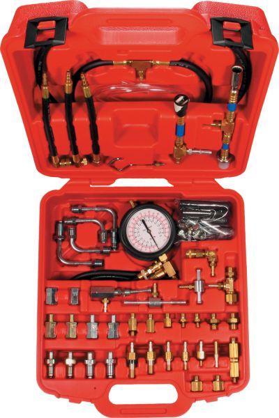 Druckprüfgerät mit Manometer, 0-8 bar