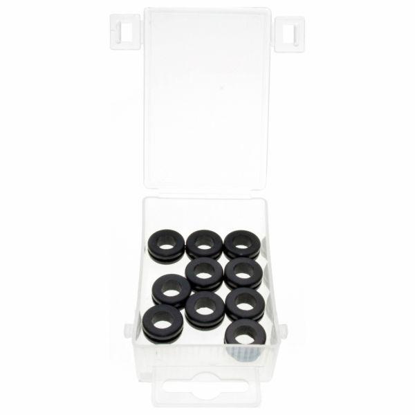 Gummi-Durchgangstüllen,10-tlg. (offene Ausführung)