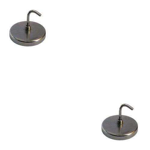 Satz Magnetische Schraubhaken, 2-tlg. (Durchmesser ca. 25 mm)