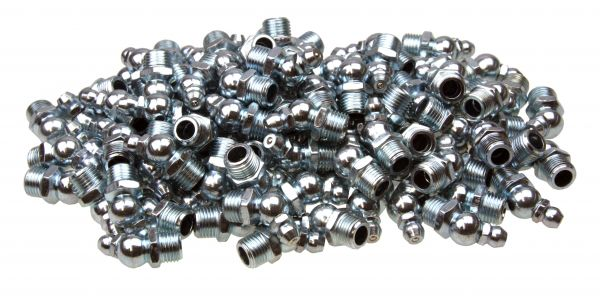 100 x Kegel-Schmiernippel, H2 Form B 45° abgewinkelt M10x1.0