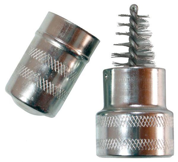 Batteriebürste für Batteriepolen und Polklemmen