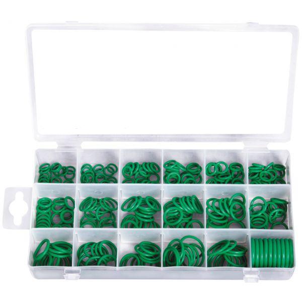 Grüne HNBR O-Ring-Sortiment, 265-tlg.