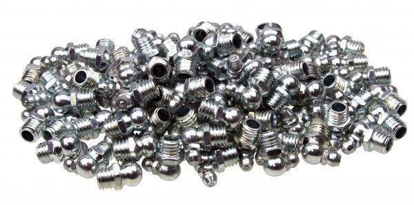 100 x Kegel-Schmiernippel, H3 Form C 90° abgewinkelt M10x1.5