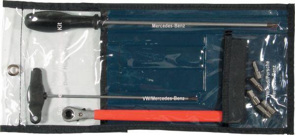 Türscharnier-Werkzeugsatz