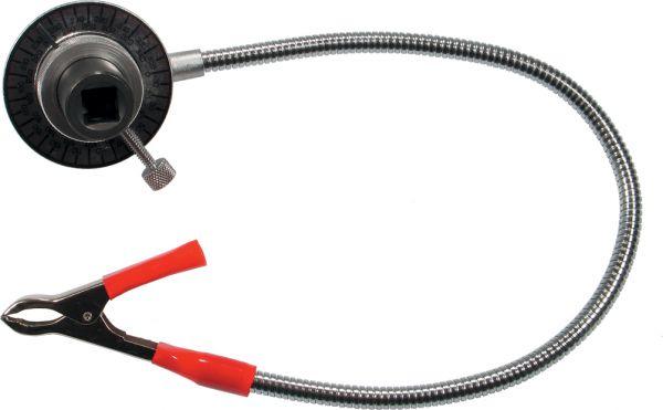 """Drehwinkel-Messgerät mit Cliparm 1/2""""-Antrieb Werkstattmodell bis 280 Nm"""