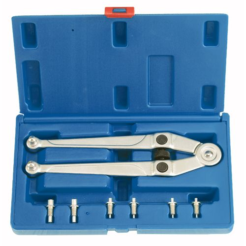 Universal Stirnlochschlüssel, Ø 2.5-9 mm