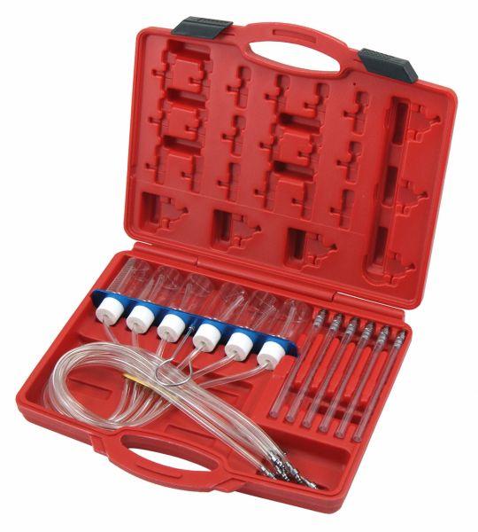 Rücklaufmengen-Prüfgerät für Common-Rail-Injektoren